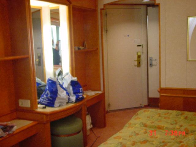Bild: Silja Line hytt Commendore med balkong