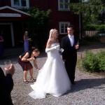 Bild: Maria Nömell och Joakim Nömell , Bröllopfest Västerhaninge hembyggdsgård