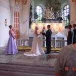 Bild: Bröllop i Österhaninge Kyrka