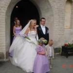 Bild: Maria Nömell och Joakim Nömell , bröllop Österhaninge Kyrka