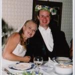 Bild: Maria Nömell och Joakim Nömell, bröllopsfest Västerhaninge hembyggdsgård