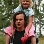 Bild: Joakim Nömell och Emilia Nömell på Rånö