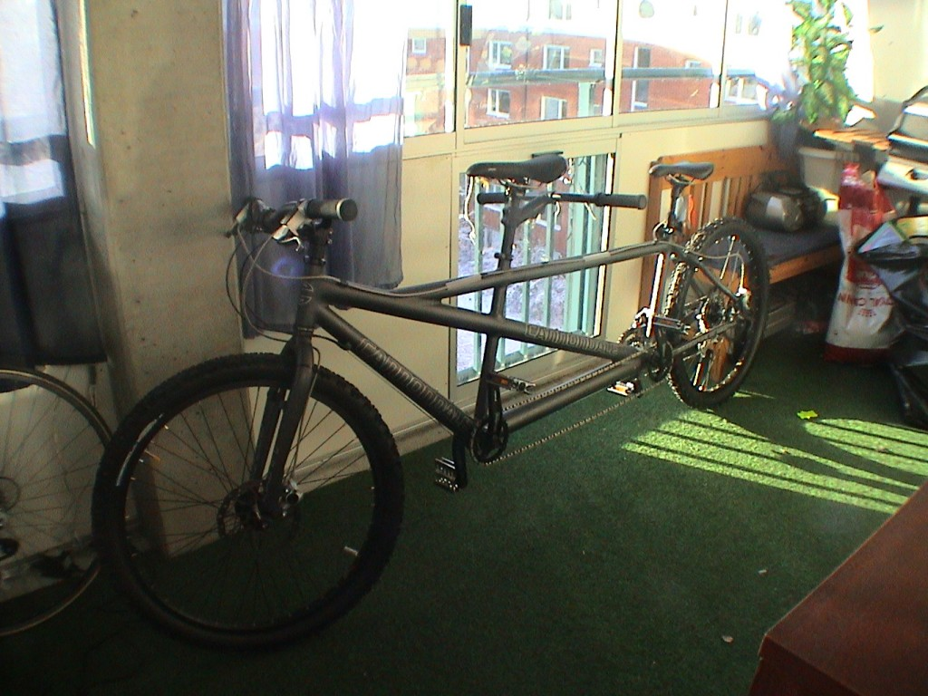 Bild: Canondale MT-1 Tandemcykel