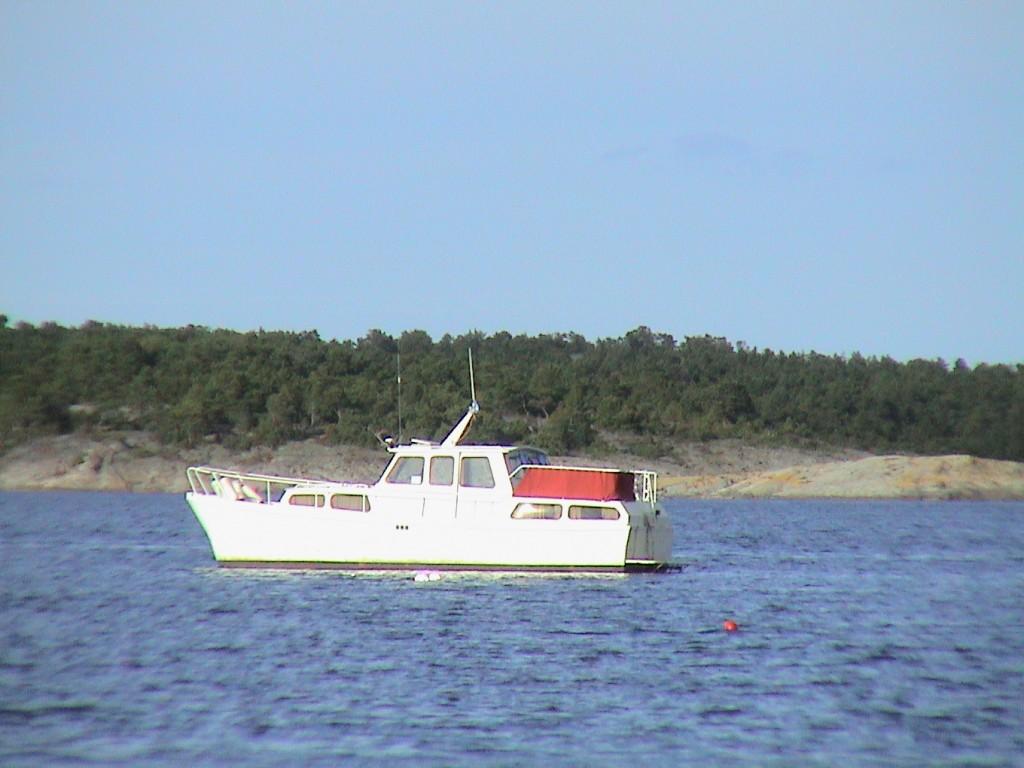 Galadriel, 31 fots stålbåt av typen Hollänsk