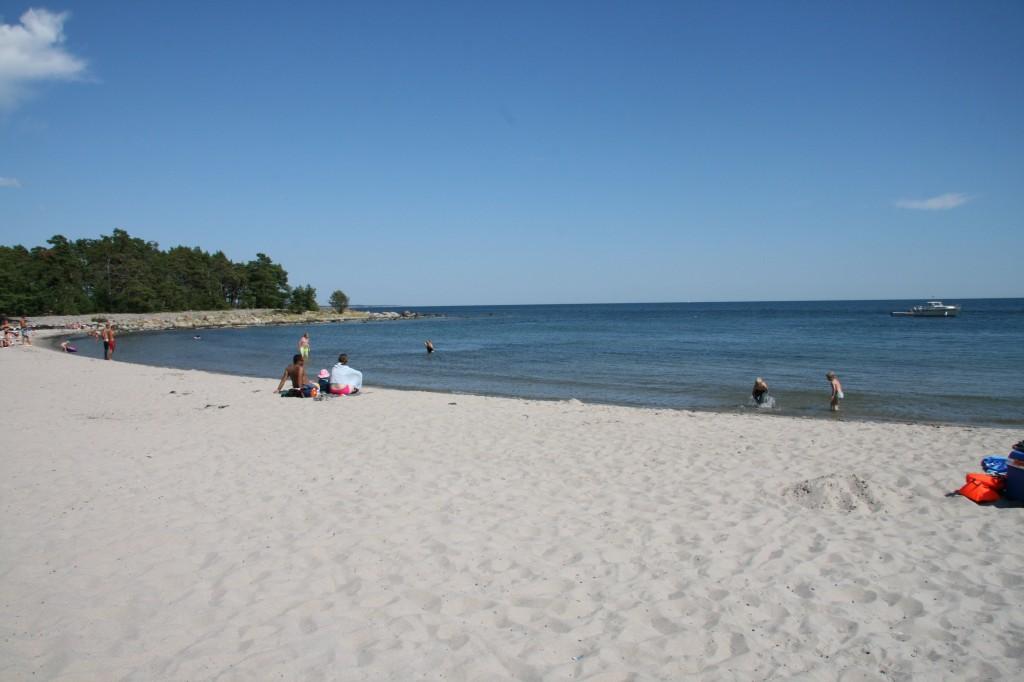 Bild: Strand på Nåttarö