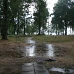 Bild: Regn på Rånö