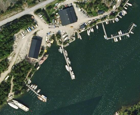 Wik-Inn Satelitbild