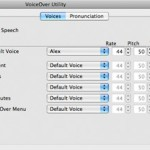 Apple VoiceOver Utility