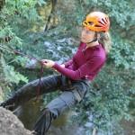 bild: Nina Lundberg klättrar Mot Alla Odds 2013