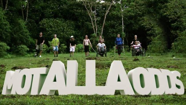 Bild: Mot Alla Odds 2013 deltagare gruppbild