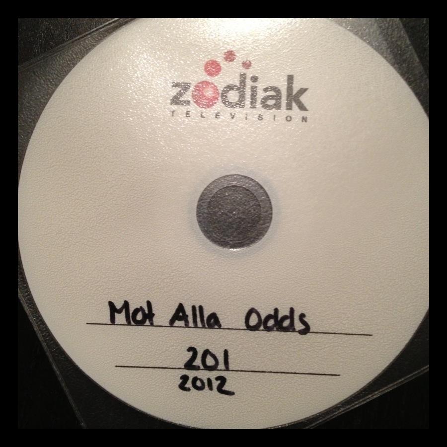 Bild: DVD-skiva med texten