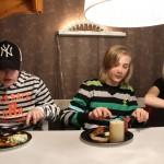 Bild: Jesper Nömell, Elliot Pålsson och Emilia Nömell