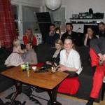 Bild: Indra Nömell, Jonas Nömell, Elin Walin, Jenny Nömell, Mattias Hult; Joakim Nömell, Björn Lööw; Carina Nömell, Mattias Pålsson, Thomas Egrelius och Karin Egrelius