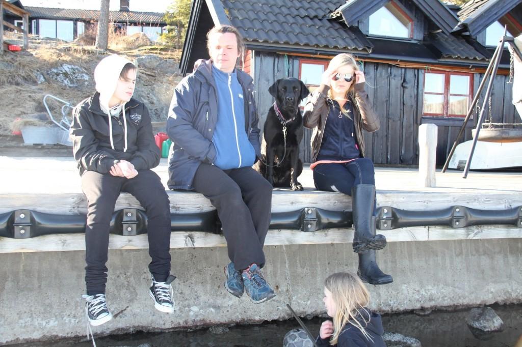 Bild: Jesper Nömell, Joakim Nömell och Denise Nömell