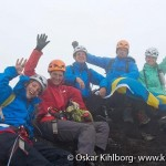 Bild: Pax, Titti, Joakim Nömell, Rickard Forshäll och Petra från mot alla odds