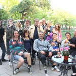 Bild: Grupp Bild med bla Joakim Nömell, Maria Lindholm, Rickard Forshäll, Arkan Palani och Sonia Elvstål från Mot Alla Odds