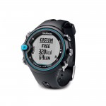 Bild: Garmin Swim Watch visar skärmen för anpassad sida