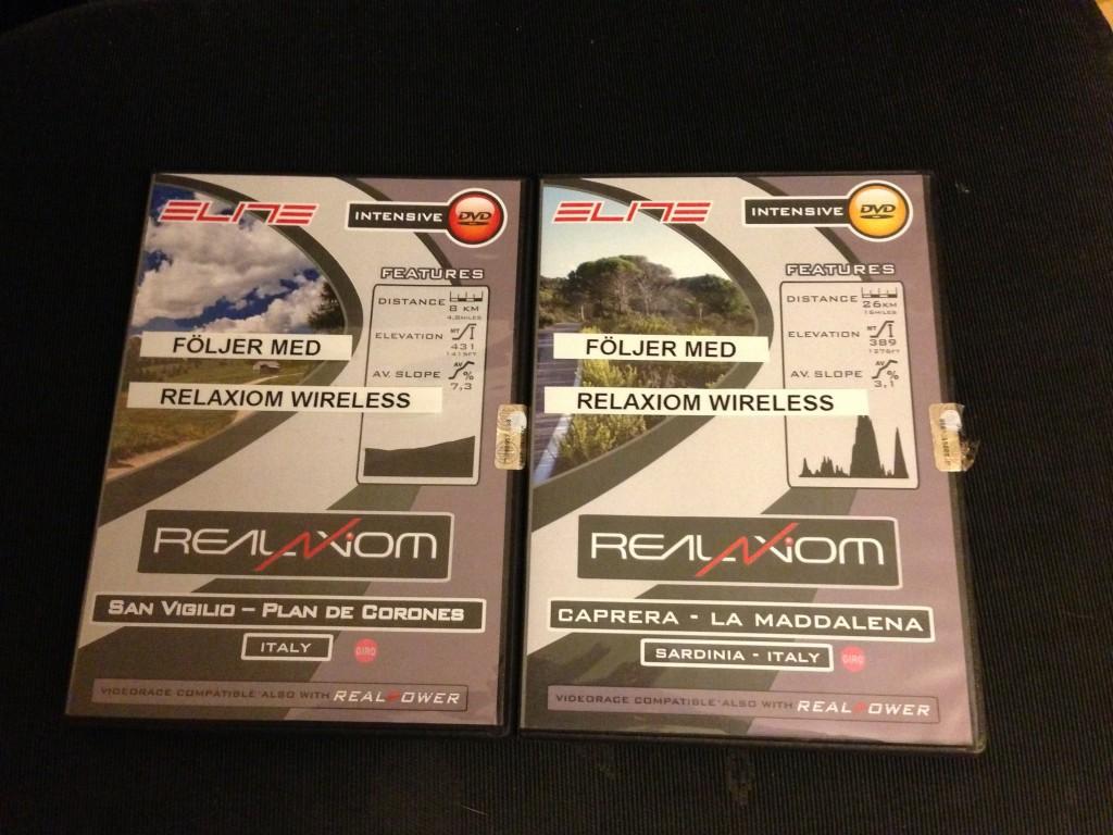 Bild: Elite RealAxiom trainer RealVideo DVD-skivor