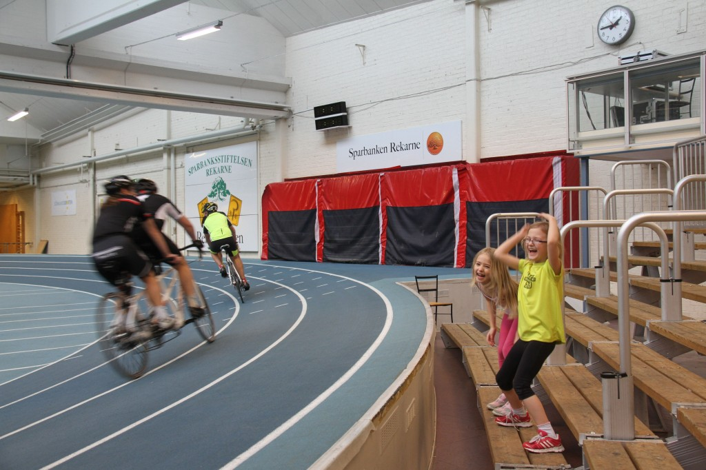 Bild: Para-cykling, tandemcykel, handcykel och liggcykel