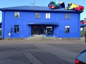 Bild: Stationshuset i Vara