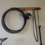 Bild: Cykeförråd med cyklar