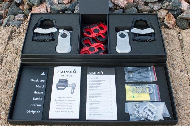 Bild: Garmin Vector-pedaler i kartong