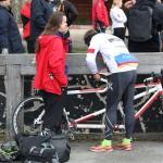 Bild: Cykelmeck inför start