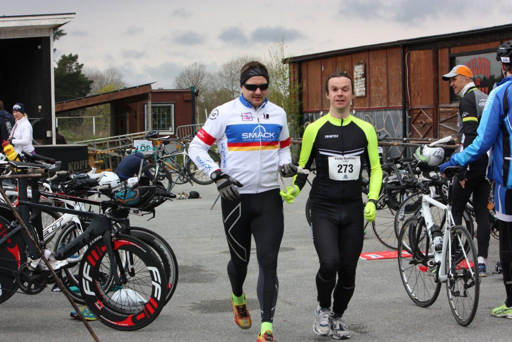 Bild: Joakim Nömell & Jan Jensen värmer upp