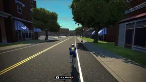Bild: Zwift-cyklist på banan i Richmond