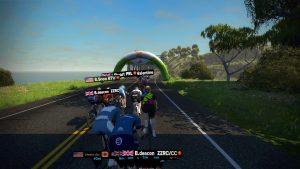 Bild: Zwift-cyklist