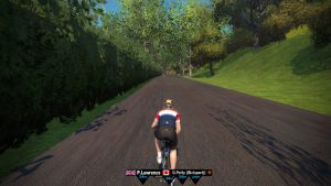Bild: Zwift avatar i London
