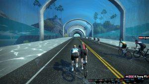 Bild: Skärmbild från Zwift