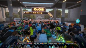 Bild: Zwift race