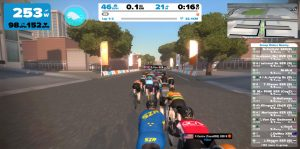 Bild: Zwift race start
